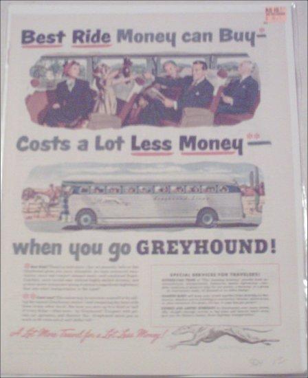 1950 Greyhound Bus Lines ad #1