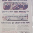 1950 Greyhound Bus Lines ad #1