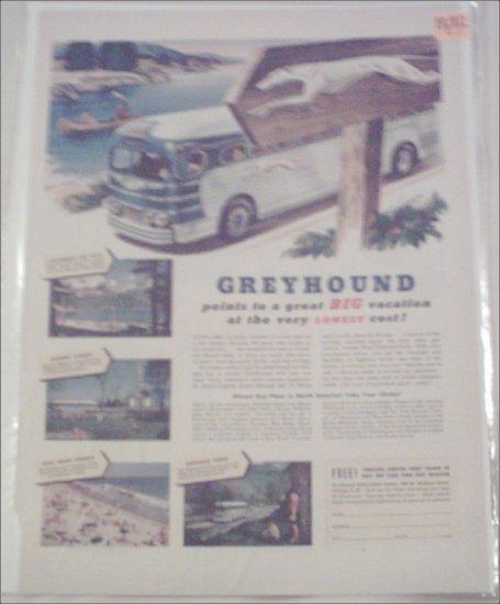 1950 Greyhound Bus Lines ad #2