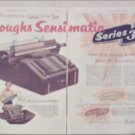 1952 Burroughs Sensimatic Series 300 Accounting Machine ad