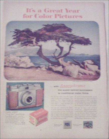Ansco Anscochrome Film ad