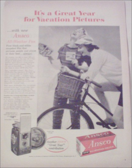Ansco All-Weather Pan Film ad