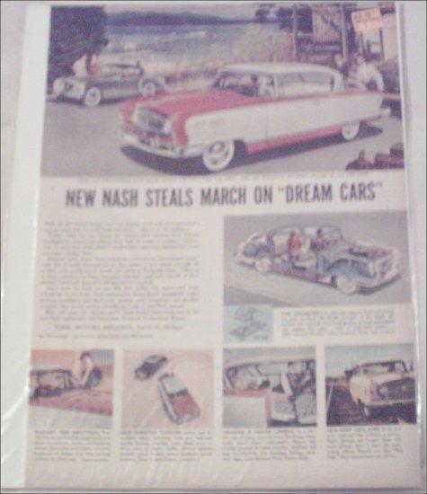 1955 American Motors Nash Ambassador CC 2 dr ht car ad