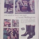 Acme Wellingtons Boot ad