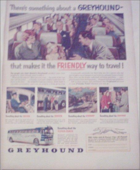 Greyhound Bus Lines Friendly ad