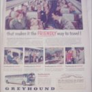 Greyhound Bus Lines Friendly ad