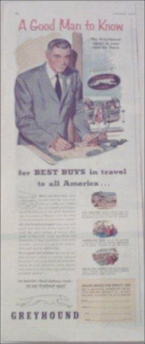 1952 Greyhound Bus Lines ad #2