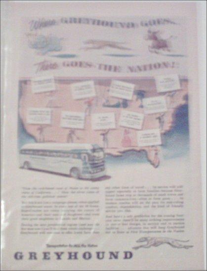 1952 Greyhound Bus Lines ad #3