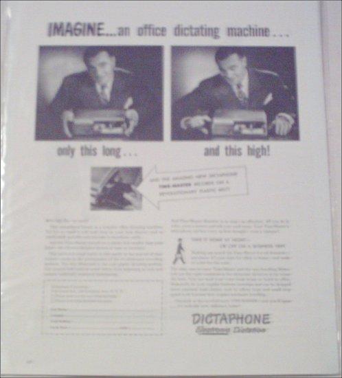 Dictaphone Dictation Machine Imagine ad