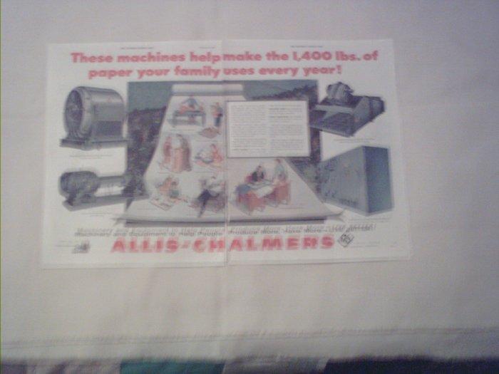 1955 Allis-Chalmers ad