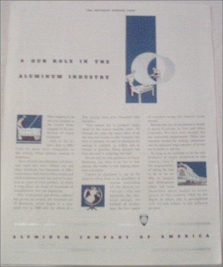 1937 Aluminum Company Of America ad
