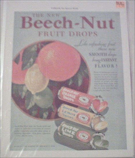 1931 Beech-Nut Fruit Drops ad