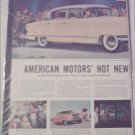 1955 American Motors Nash Ambassador CC 4 dr sedan car ad