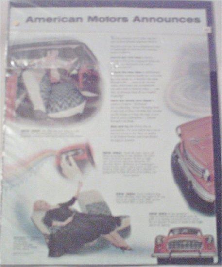 1955 American Motors Rambler 2 dr ht car ad