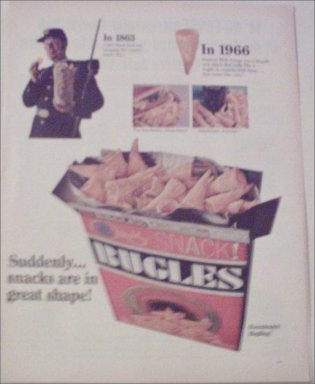 1966 General Mills Bugles ad