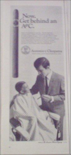 1968 Antonio y Cleopatra Grenadier Cigar Barbor ad
