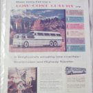 1956 Greyhound Bus Lines ad
