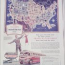 1949 Trailways Bus Line ad