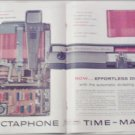 1958 Dictaphone Time-Master Dictation Machine ad