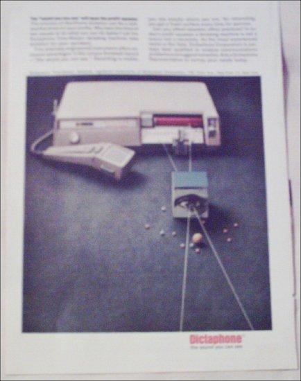 Dictaphone Timemaster Dictation Machine ad
