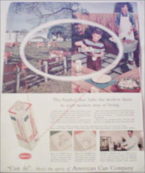 1956 American Can Company ad