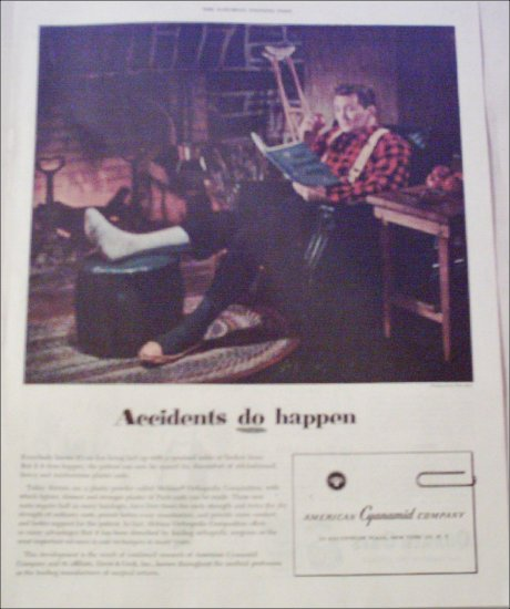 1953 American Cyanamid Company ad