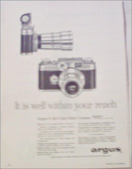 1957 Argus C-44 Color-Slide Camera ad
