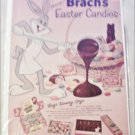 1958 Brachs Easter Candies ad featuring Bugs Bunny