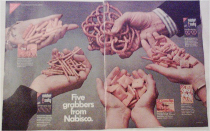 1968 Nabisco Chips ad