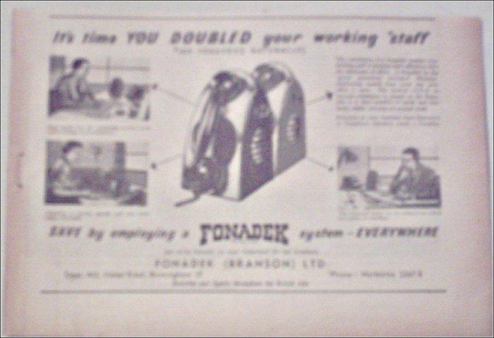 1955 Fonadek ad from the UK