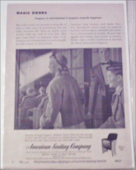 American Seating Company ad
