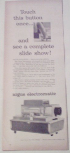 Argus Electromatic Projector ad