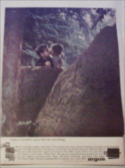 Argus #822 Super Eight Movie Camera ad