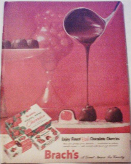 Brachs Chocolate Cherries ad