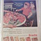 1962 Brachs Halloween Candies ad