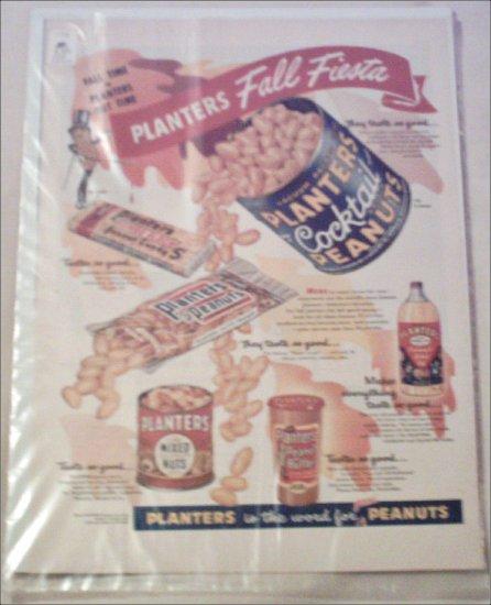 1954 Planters Fall Fiesta ad