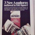 Amphora Pipe tobacco ad