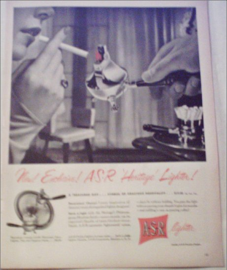 A-S-R Heritage Lighter ad
