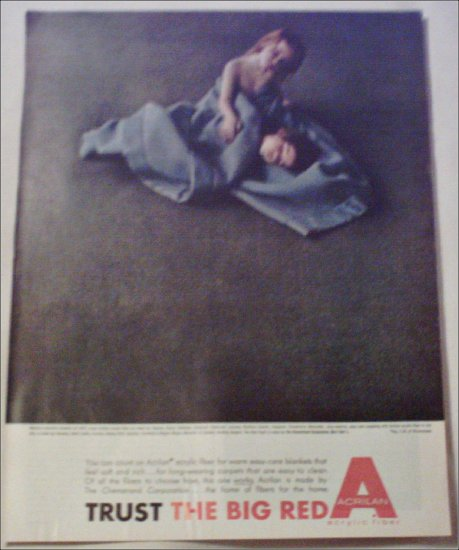 Acrilan 2 Girls ad