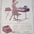 1957 IBM Electric Typewriter ad