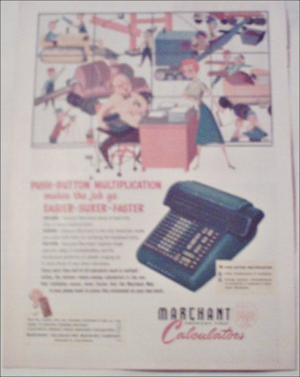 Marchant Calculator ad