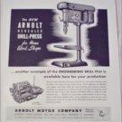 Arnolt Motor Company ad