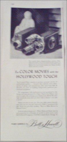 Bell & Howell 16 mm Filmo Movie Camera ad