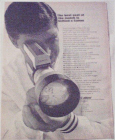 1966 Canon Super 8 Movie Camera ad