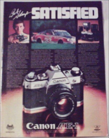 1980 Canon AE-1 Camera ad #1