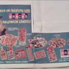 1966 Brachs Halloween Candies ad