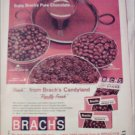 1965 Brachs Chocolate Candy ad