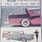1956 American Motors Rambler Custom 4 dr ht car ad