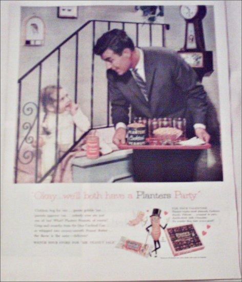1960 Planters Peanuts Valentines ad