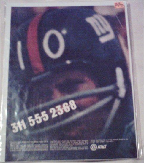 AT&T NY Giants ad